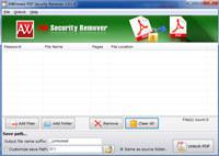 Unlock Acrobat PDF Security