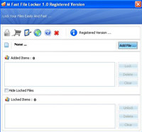M Fast File Locker 1.0