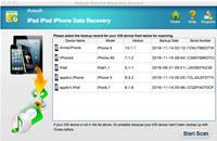 iPubsoft iPad iPhone iPod Data Recovery for Mac screenshot medium