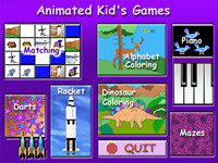 Animated Kids Games