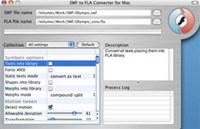 SWF to FLA Converter for Mac screenshot medium