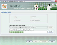 Pocket PC Investigative Software