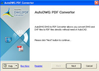 Smart DWG to PDF converter standard screenshot medium