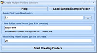Create Multiple Folders Software