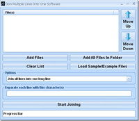 Join Multiple Lines Into One Software screenshot medium