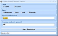 Random Number Generator Software