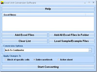 Excel Unit Conversion Software
