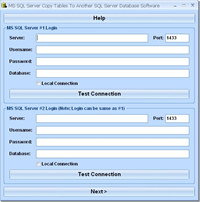 MS SQL Server Copy Tables To Another SQL Server Database Software