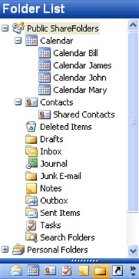 Public ShareFolder for Outlook