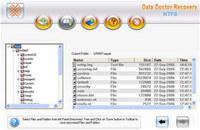 Undelete NTFS Partition Data