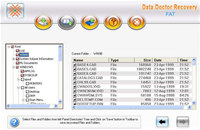 Recover Deleted Fat File