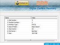 Digital Camera Restoration Tool