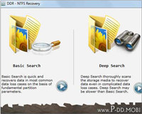 NTFS Files Recovery Utility
