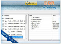 FAT Drive Files Recovery