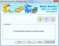 MSI Installer to EXE Creator