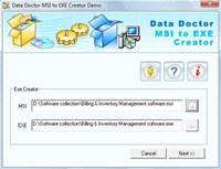 Create MSI TO EXE Setup