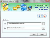 Convert MSI to EXE