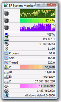 EF System Monitor screenshot medium