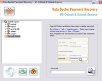 Outlook Password Unlock Tool screenshot medium