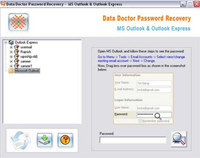 Outlook Express Password Unlock Tool