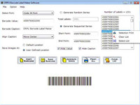 Bar Code Labels Maker