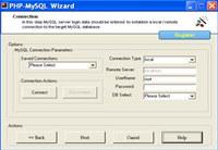 PHP MySQL Wizard ( php Code Generator for Mysql)