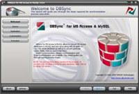 DBSync for Access & MySQL screenshot medium
