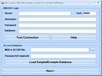 MS Access IBM DB2 Import, Export & Convert Software
