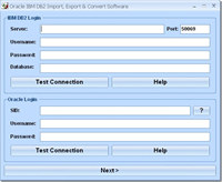 Oracle IBM DB2 Import, Export & Convert Software