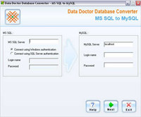 MSSQL to MySQL Migration Software