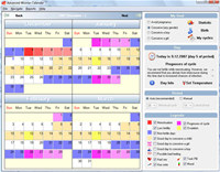 SoftOrbits Ovulation Calendar screenshot medium