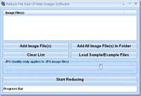 Reduce File Size Of Web Images Software