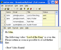 Free Email Marketing: Broadcast By Email