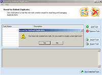 Remove Outlook Duplicates Software screenshot medium