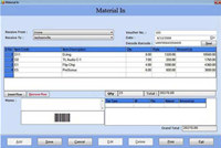 Finance Management Software with Barcode