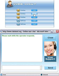 Live Online Chat Software