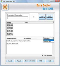 PC to Cell Phone Bulk SMS Tool
