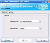 Chat Translator for Skype