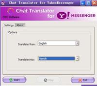 Chat Translator for Yahoo Messenger screenshot medium