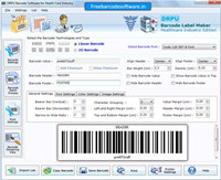 Barcode Generator for Medical Equipments
