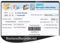Courier Post Mailer Barcode Maker