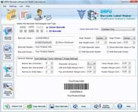 Healthcare Industry Barcode Label Maker