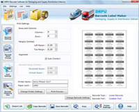Distribution Industry Barcodes Software