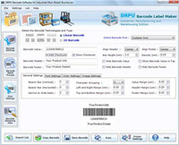 Manufacturing Industry Barcode