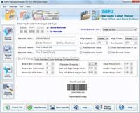 Post Office Barcode Maker Software