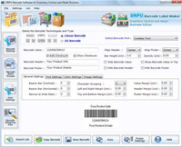 Barcode Labels for Inventory Control