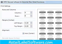 Warehouse Industry Barcodes Generator
