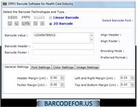 Hospital Barcode Maker