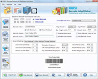 Publishing Industry Software Barcode