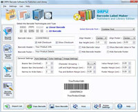 Barcodes Generator for Libraries